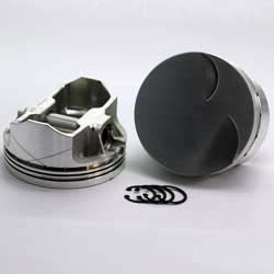 K1-3120-4000  Boss 347 Stroker SBF 289 - 302 K1-FX Series  -3cc Flat Top BOSS/Canted  Piston Set. 4.000 bore