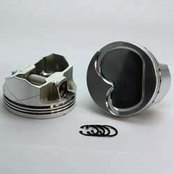 K2-3123-4000  347 Stroker SBF 289 - 302 K2-FX Series -22cc Dish Top BOSS/Canted  Piston Set. 4.000 bore
