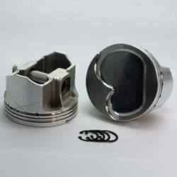 K3-3971-4000  400M SBF 400M K3-FX Series -13cc Dish Top BOSS/Canted  Piston Set. 4.000 bore