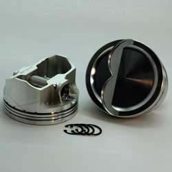 DSS Racing 3-5063-4050  442 FE 3-FX Series -20cc FE Dish Top Piston Set. 4.050 bore