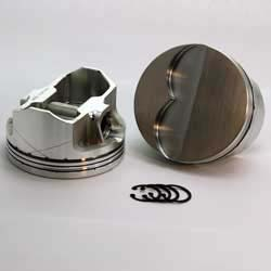 DSS Racing 2-6130-4120  453 Late Pontiac  2-FX Series  -7cc Late Flat Top  Piston Set. 4.120 bore