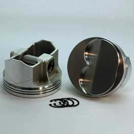 K1-2032-4000  302 SBC K1-FX Series  +4cc Dome Top  Piston Set. 4.000 bore