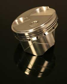 """4066X   GSX Forged 302 Longrod Ford (3.00"""" stroke x 5.400"""" rod) Dome Open Chamber Cleveland +7.5cc"""