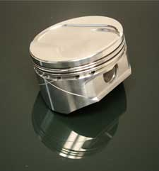 "24922BBX   5.3L Ford Modular FX Forged Piston (3.750"" Stroke x 5.950"" Rod) -6cc Dish 2V PI and Twisted Wedge"